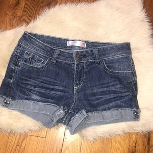 No boundaries denim shorts size 9